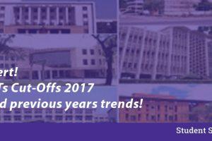 IIIT 2017 cut offs