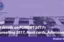 pumdet rank card counselling