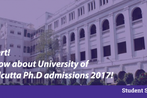 universty of calcutta admissions 2017