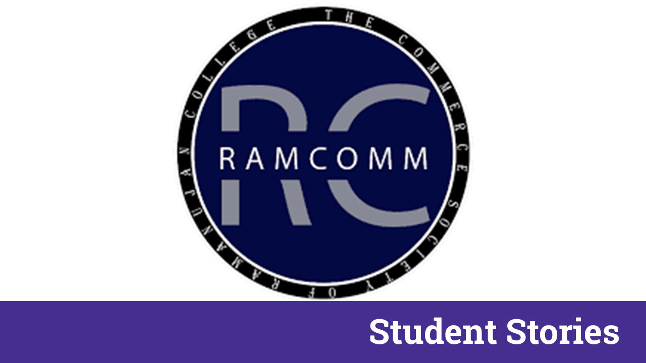 ramcomm interview student stories du society