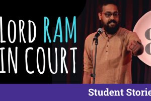 gaurav tripathi poetry lord ram in court interview student stories