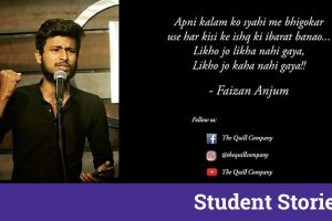 faizan s faiz interview ss your quote student stores poetry